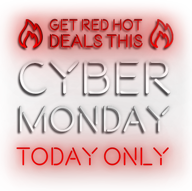 GET RED HOT DEALS THIS CYBER MONDAY