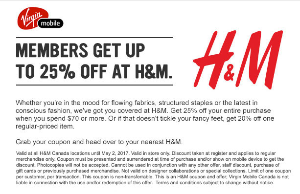 photo about H and M Printable Coupons identify H7m coupon : Mad 8 printable coupon 2018